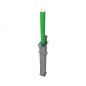21RLO-SQ80-Liftout-bollard-green