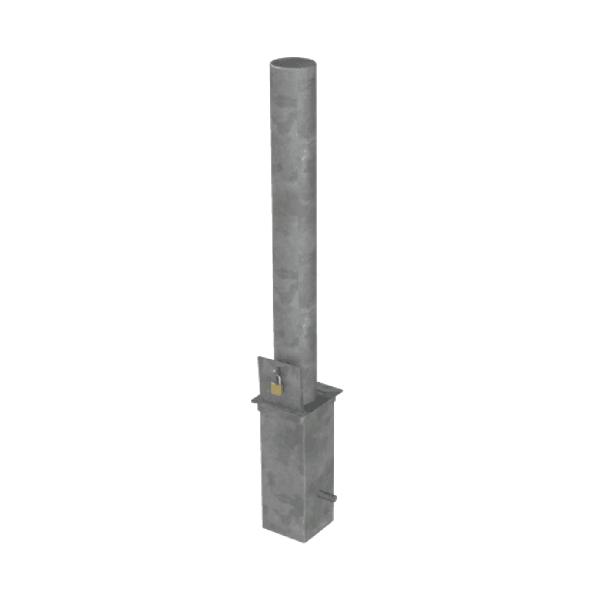 RLO114-Liftout-bollard-grey