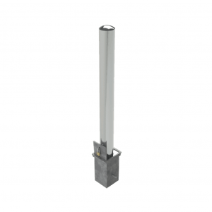 Brushed Stain Stainless Steel Finish - Liftout Bollards