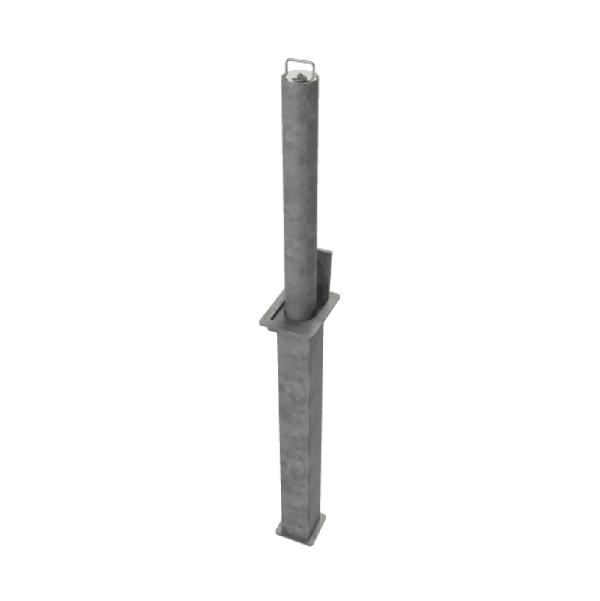 RRB D4 Telescopic Bollard Grey