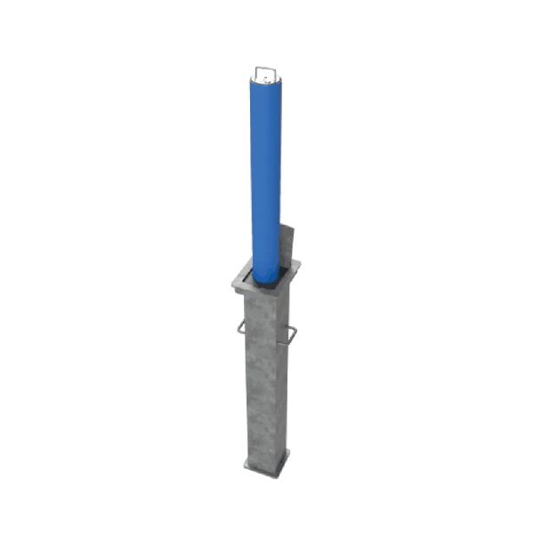 RRB R5 Telescopic Bollard Blue