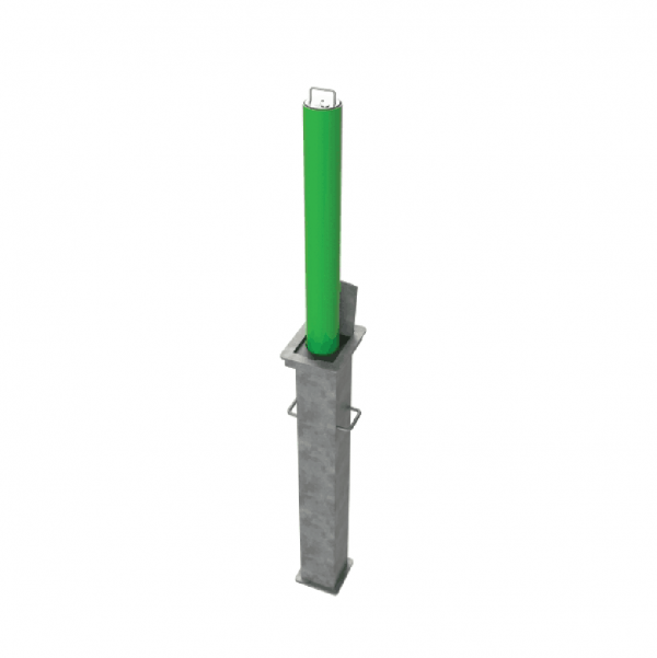 RRB R8 Telescopic Bollard Green