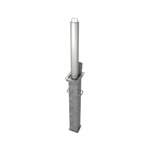 Brushed Stainless Steel Telescopic Bollards & Posts