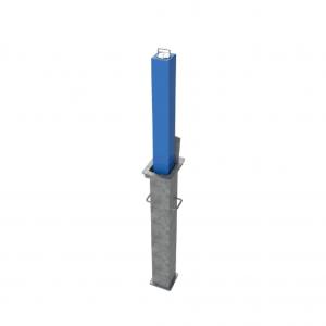 RRB SQ5 Telescopic Bollard Blue