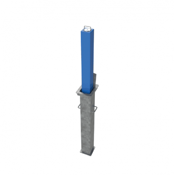 RRB SQ5 Telescopic Bollard Blue