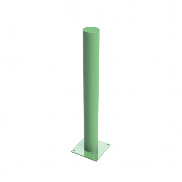 RSSB-114 BD Bolt Down Bollard Green