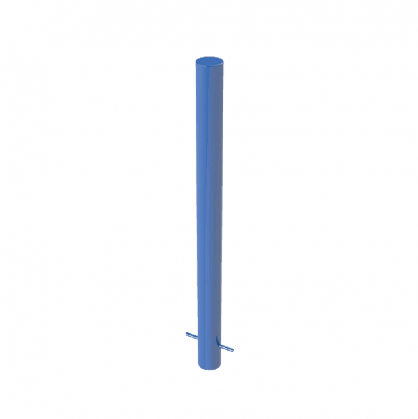 RSSB_101 Steel Static Bollard Blue