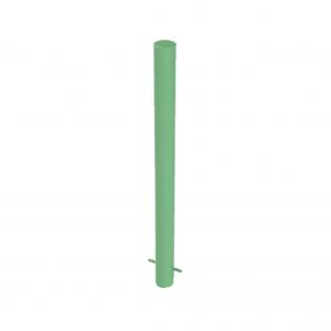 RSSB_101 Steel Static Bollard Green