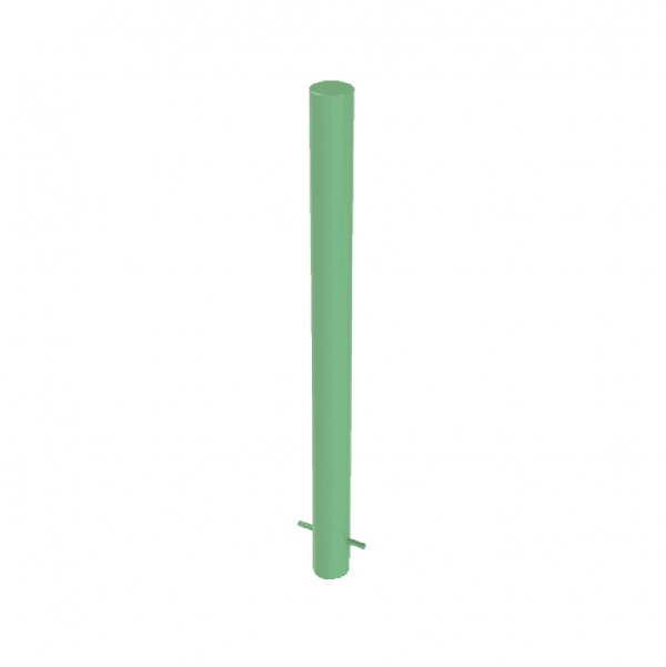 RSSB_101 Steel Static Bollard Green