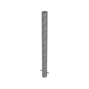 RSSB_114 STeel Static Bollard grey
