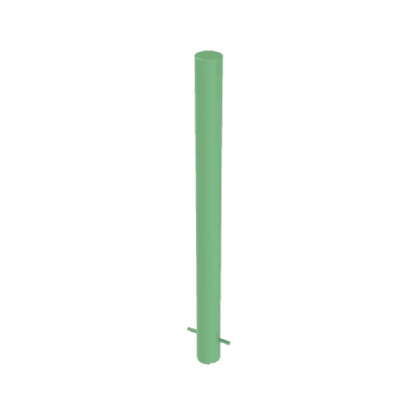 RSSB_114 Steel Static Bollard Green