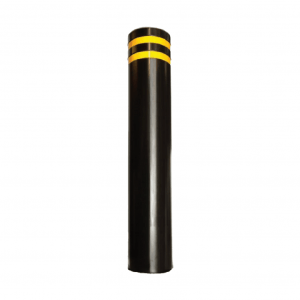 RSSB_193 Steel Static Bollard black and yellow