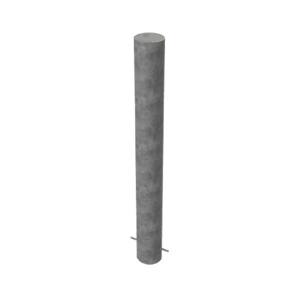RSSB_219 Steel Anti Ram Bollard Grey