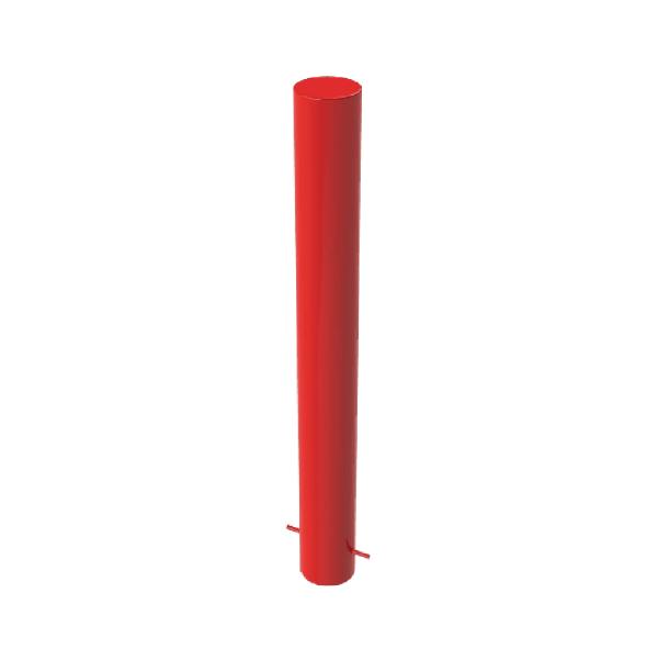 RSSB_219 Steel Anti Ram Bollard red