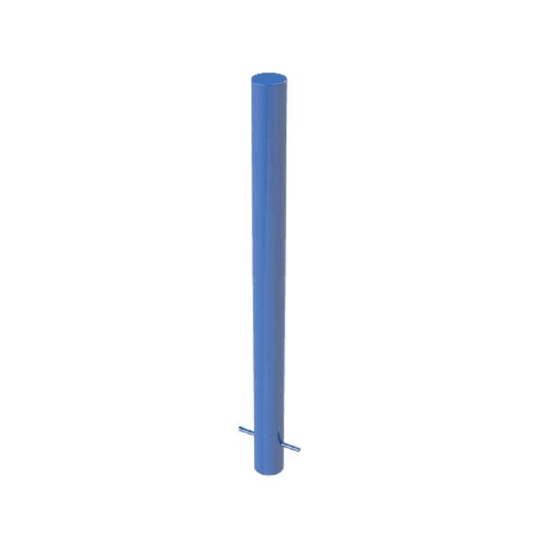 RSSB_90 Steel Static Bollard Blue