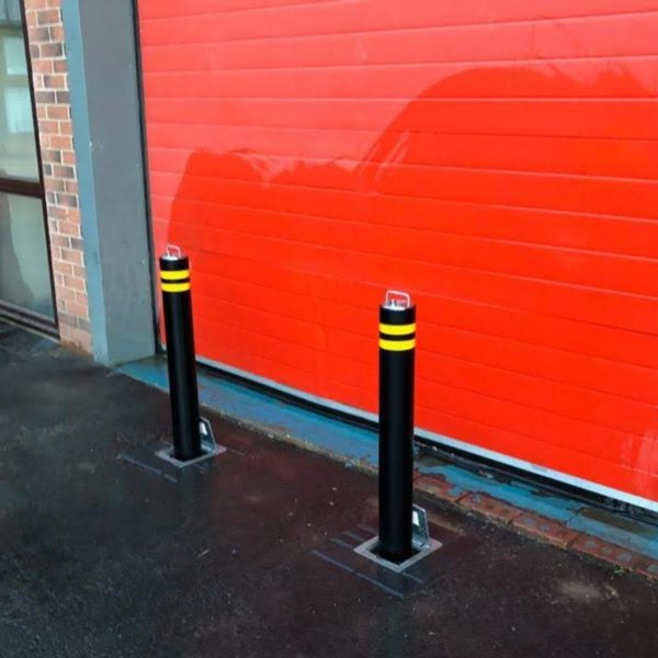 High Security Manual Telescopic Bollards
