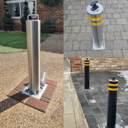 Lift Out Parking Posts